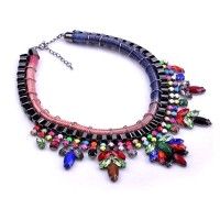 0204102907 Big Chunky Shourouk Bijoux Women  Necklaces 3colores