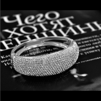 2605100017 Luxury Alloy Full Rhinestone Bracelet & Bangle