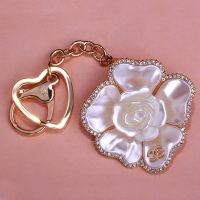 0210100237 Romantic Flower  Bag Key Chains